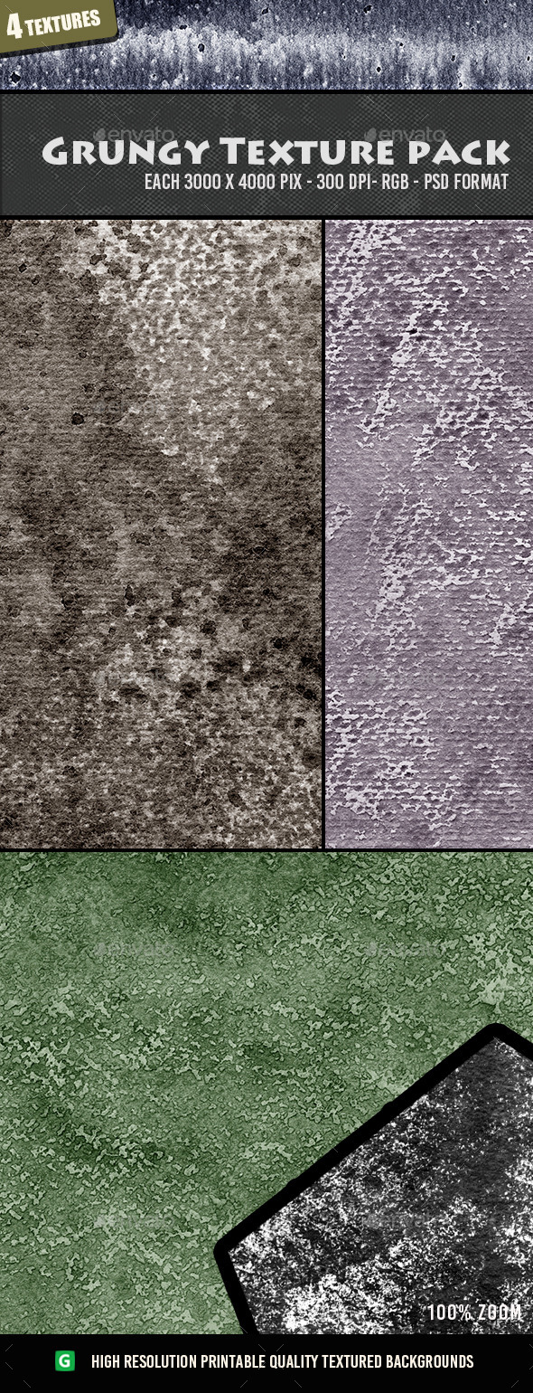 Grungy Texture Pack 08 - Textures
