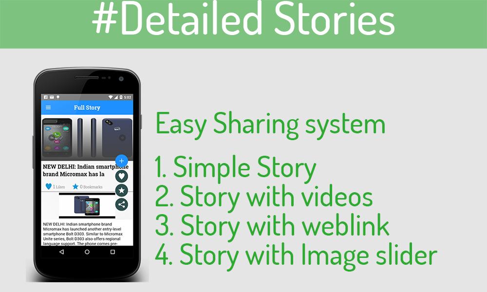 MultiPurpose News/Story/Portfolio for Android