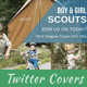 Kids Scouts Twitter Covers - GraphicRiver Item for Sale