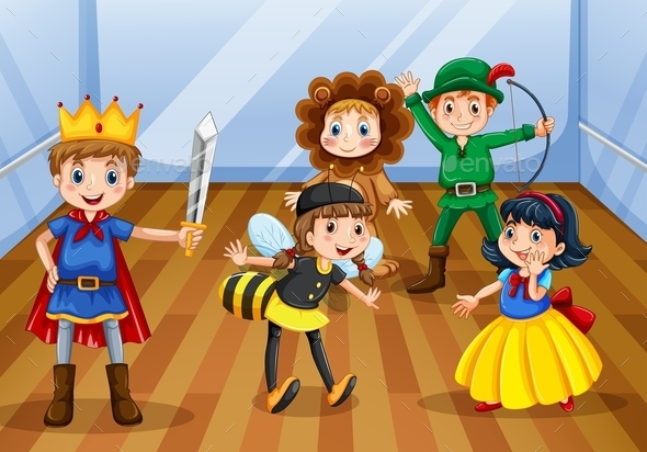 Children - People Characters