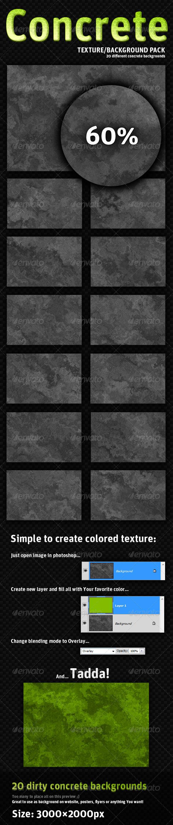 20 dirty concrete textures - Concrete Textures