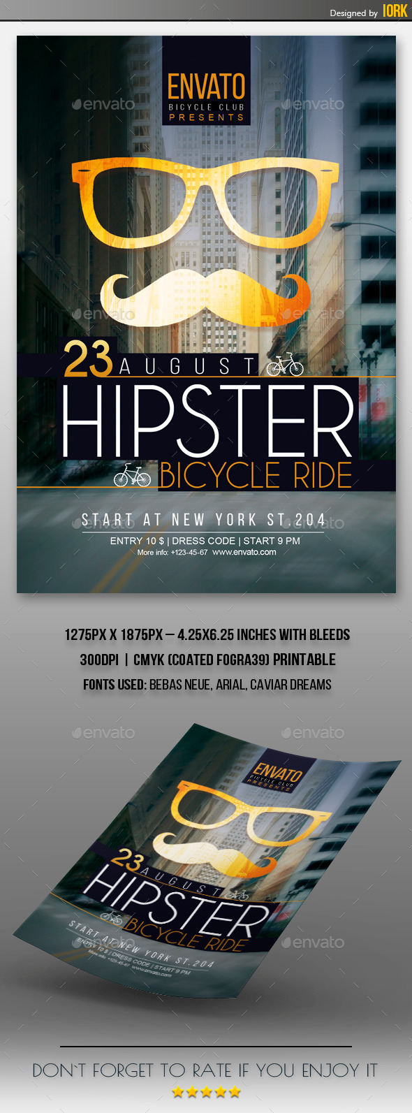 Hipster Event Flyer - Events Flyers