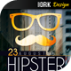 Hipster Event Flyer - GraphicRiver Item for Sale