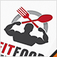 Fitness Food Logo - GraphicRiver Item for Sale