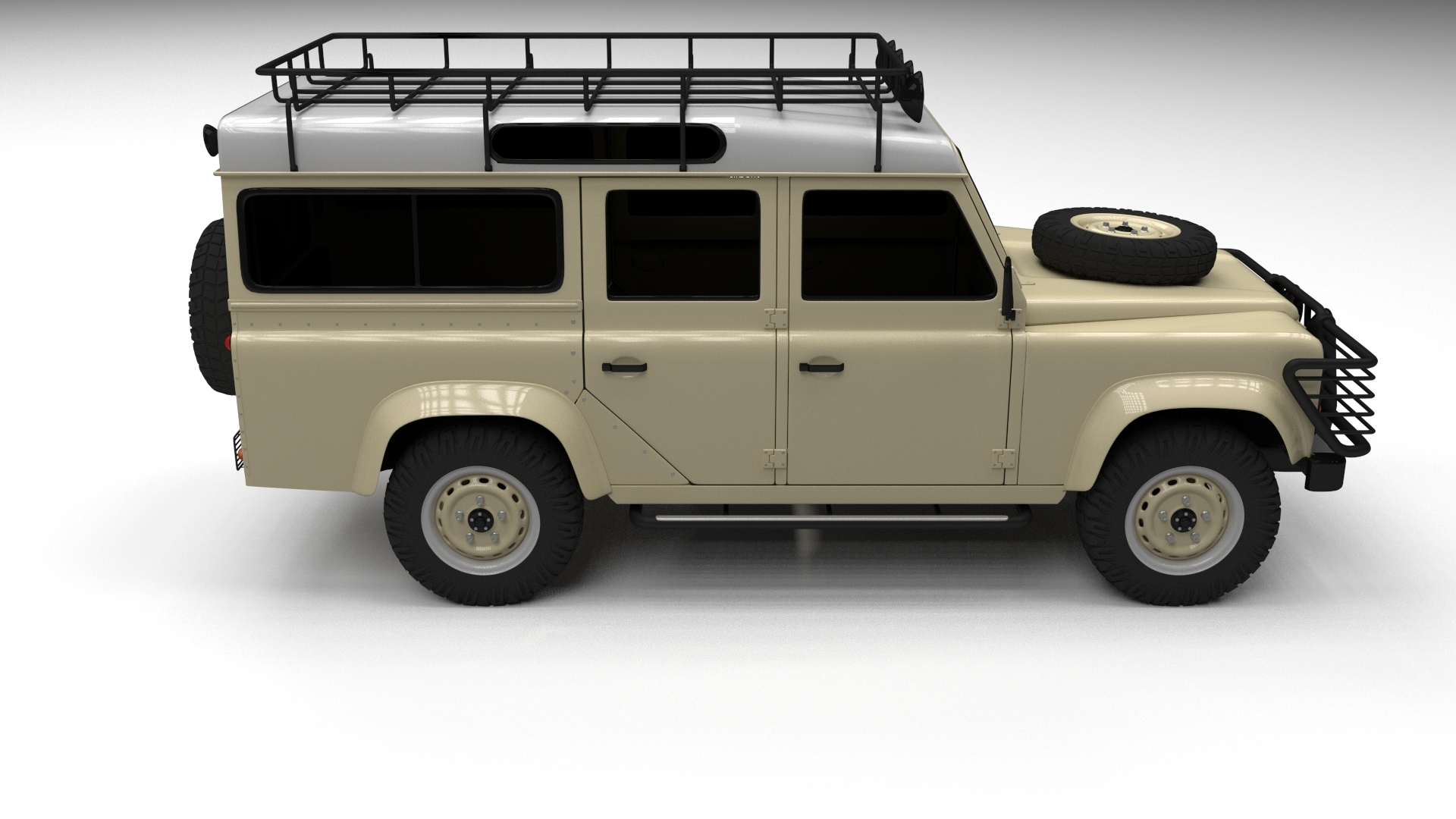 Land Rover Defender 110 Station Wagon by dragosburian   3DOcean