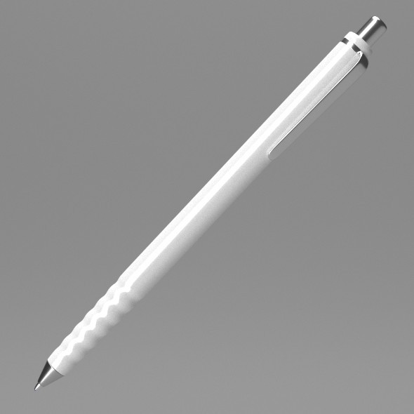 White Pen - 3DOcean Item for Sale