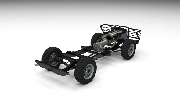 Full SUV Chassis - 3DOcean Item for Sale