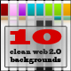 10 clean web 2.0 backgrounds - GraphicRiver Item for Sale