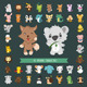 Animal Characters - GraphicRiver Item for Sale
