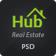 Property Hub - Real Estate PSD Theme - ThemeForest Item for Sale