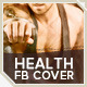 Health & Fitness Facebook Cover Template - GraphicRiver Item for Sale