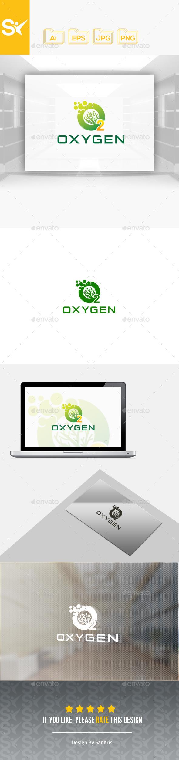 Oxygen Logo Template - Nature Logo Templates
