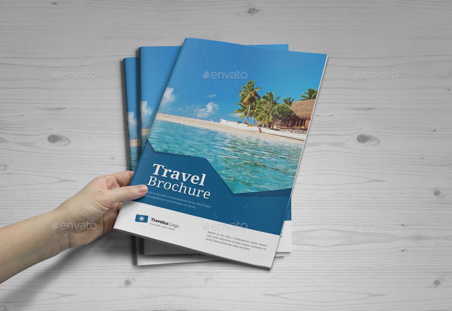 Travel Brochure Catalog InDesign Template v5 by JanySultana ...