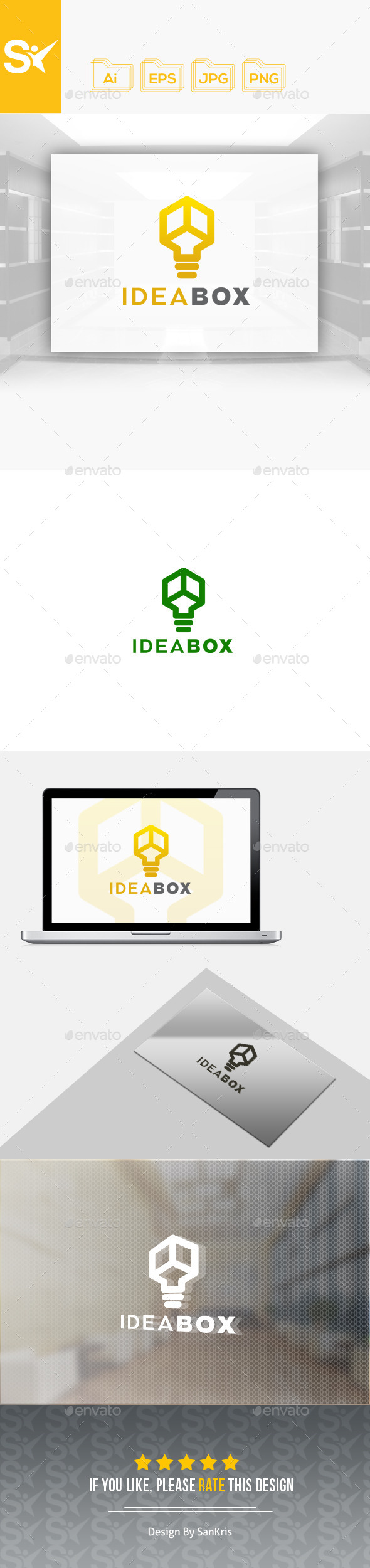 Idea Box Logo - Objects Logo Templates