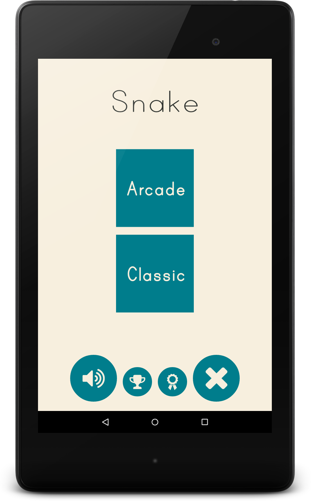 Snake classic android game by neurondigital codecanyon snake classic android game baditri Gallery
