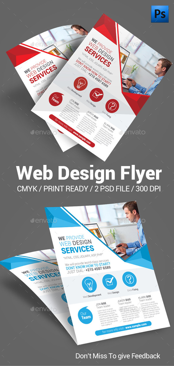 Web Design Flyer