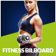 Fitness Billboard - GraphicRiver Item for Sale