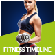 Fitness Timeline - GraphicRiver Item for Sale