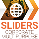 Corporate Multipurpose Sliders - GraphicRiver Item for Sale