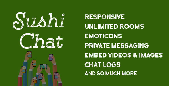 Sushi Chat - Responsive Chat for WordPress - CodeCanyon Item for Sale