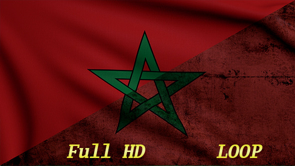 Marocco Flags