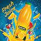 Fresh Juice Poster/Flyer - GraphicRiver Item for Sale