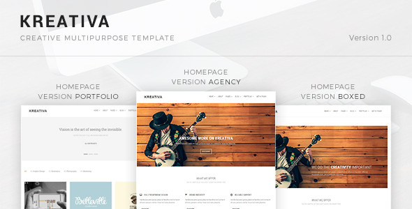 Kreativa - Creative Multipurpose Template