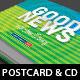 Good News Church Postcard CD Template