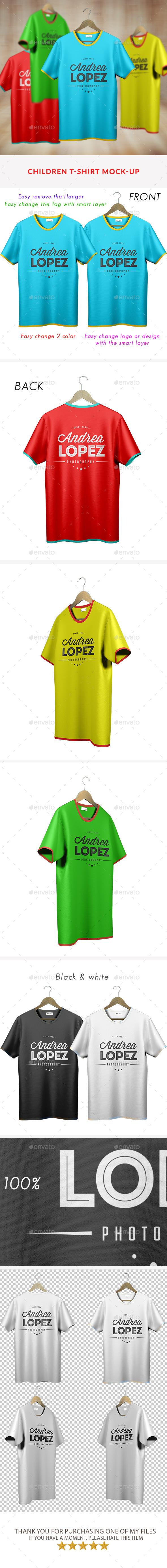 Youth T-Shirt Mock-Ups