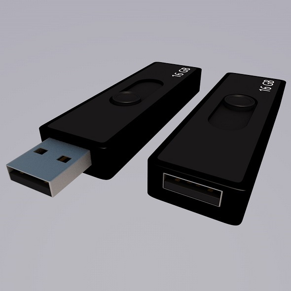 USB Flash - 3DOcean Item for Sale