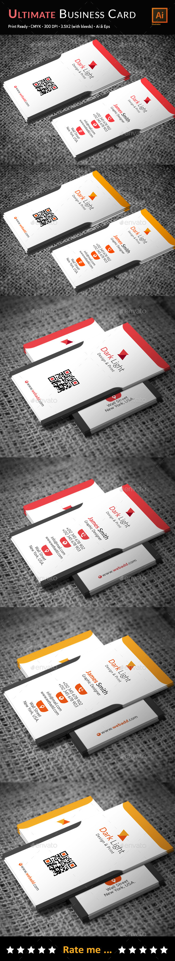 Ultimate Business Card - Business Cards Print Templates