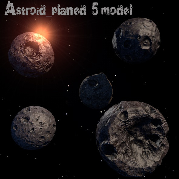 Astroid_Planet - 3DOcean Item for Sale