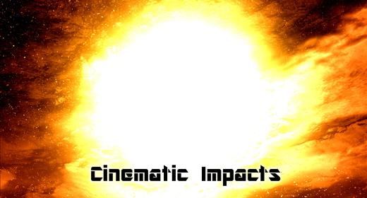 Cinematic impact stingers