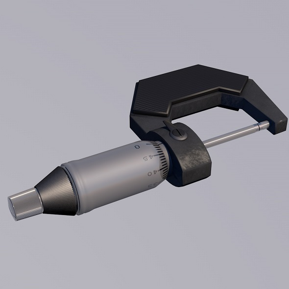 Micrometer - 3DOcean Item for Sale