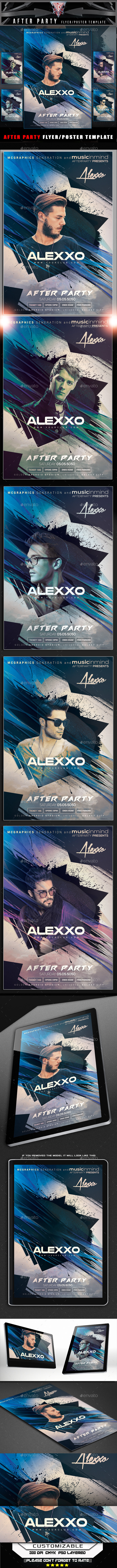 After Party Flyer Template - Flyers Print Templates