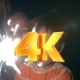 Parents, Child And Sparkler At Night - VideoHive Item for Sale