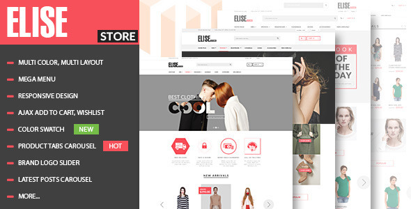 Elise – Fashion WooCommerce WordPress Theme