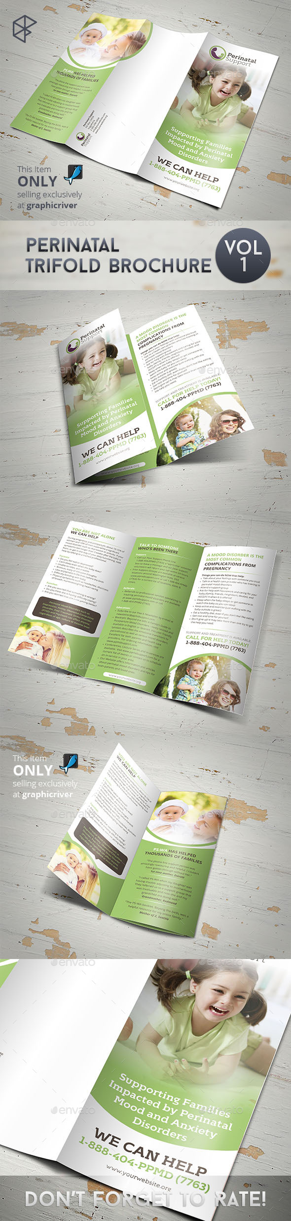 Perinatal Trifold Brochure - Corporate Brochures