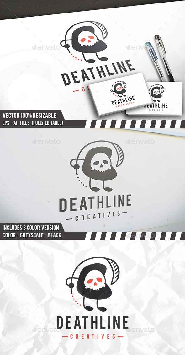 Death Logo - Humans Logo Templates