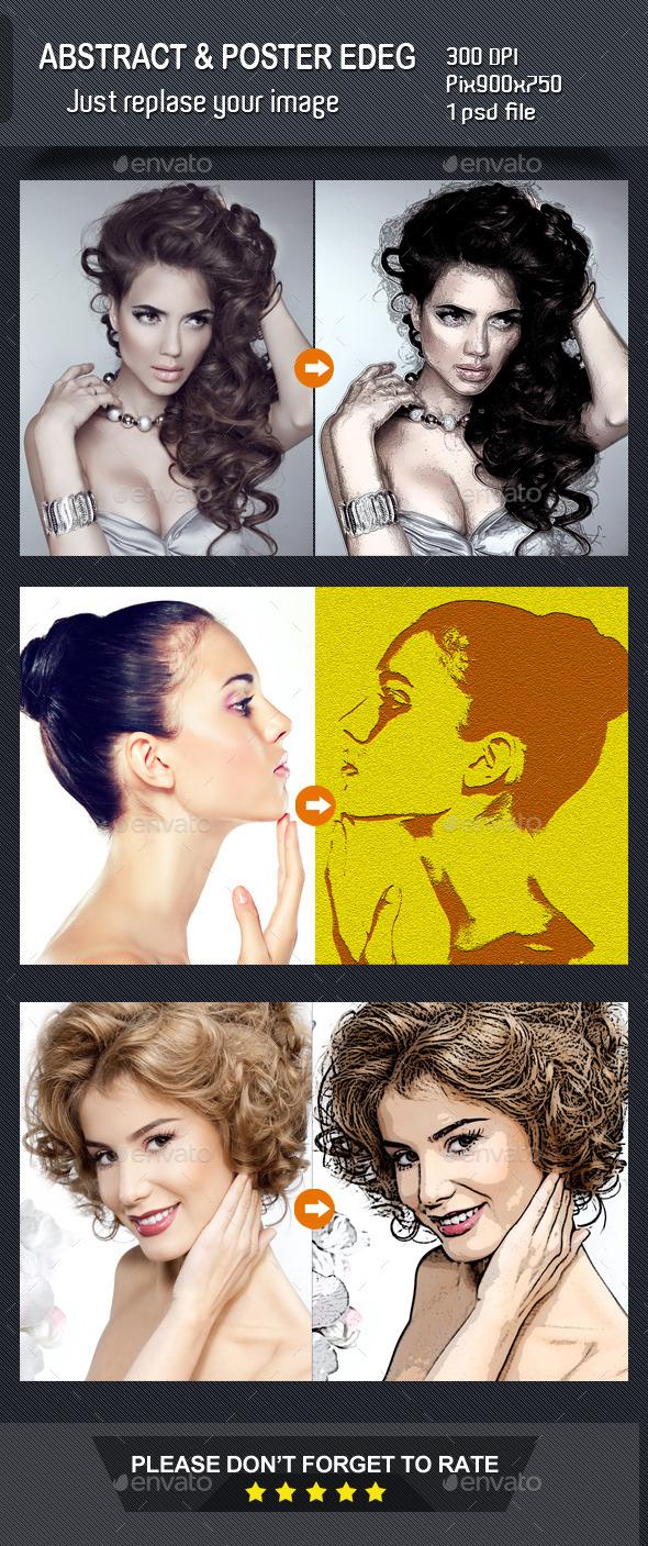 Abstract Photo Manipulation - Artistic Photo Templates
