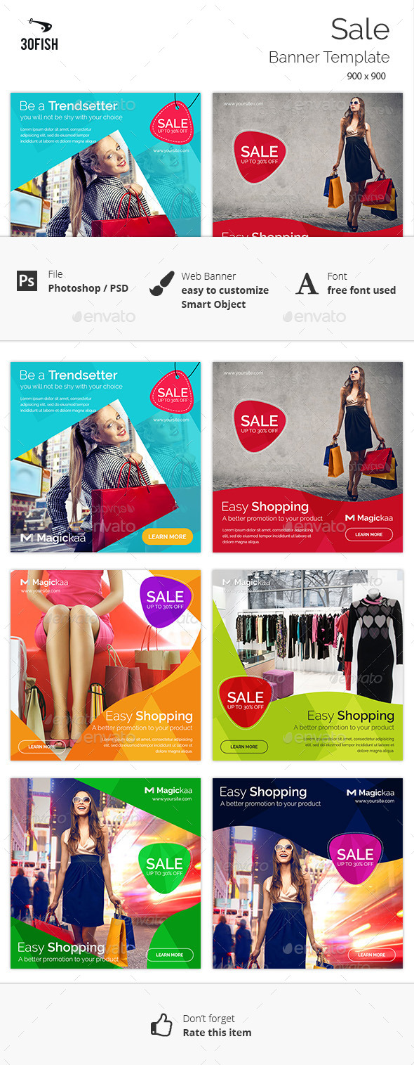 Sale Banner - Banners & Ads Web Elements