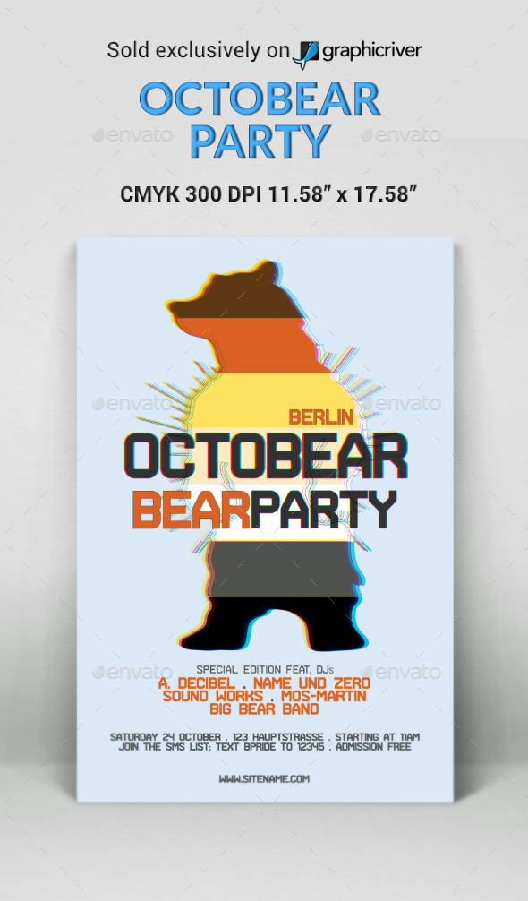 Octobear Party - Clubs & Parties Events