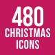 480 Christmas Icons
