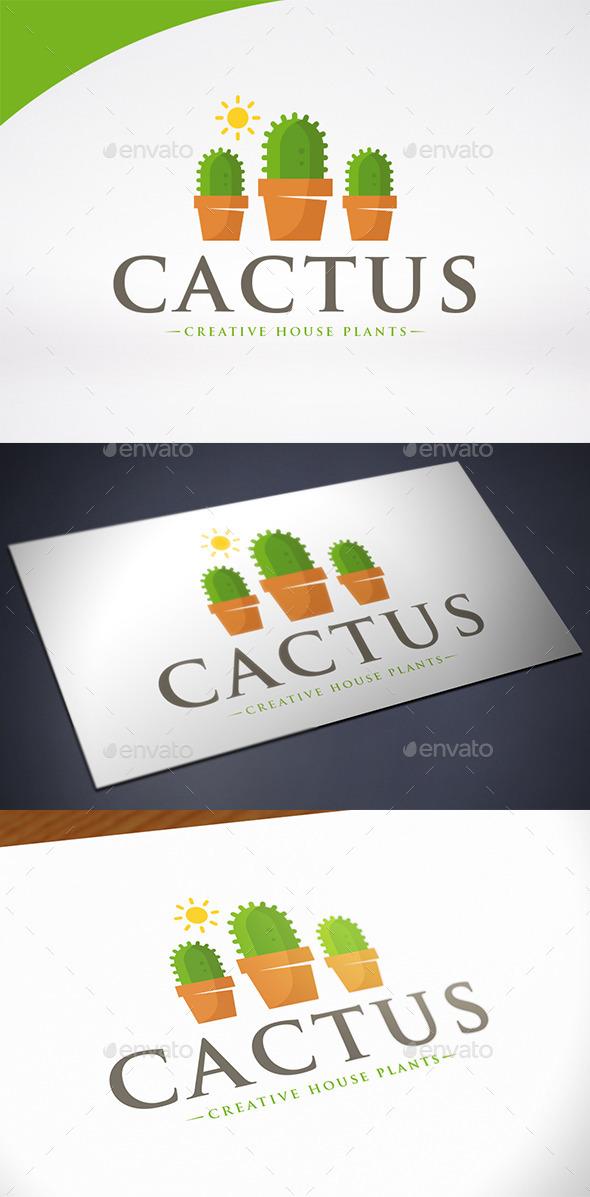 Cactus Logo Template - Nature Logo Templates