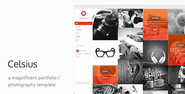Celsius – Creative Agency Portfolio Template
