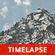 Mountain and Fast Clouds - VideoHive Item for Sale