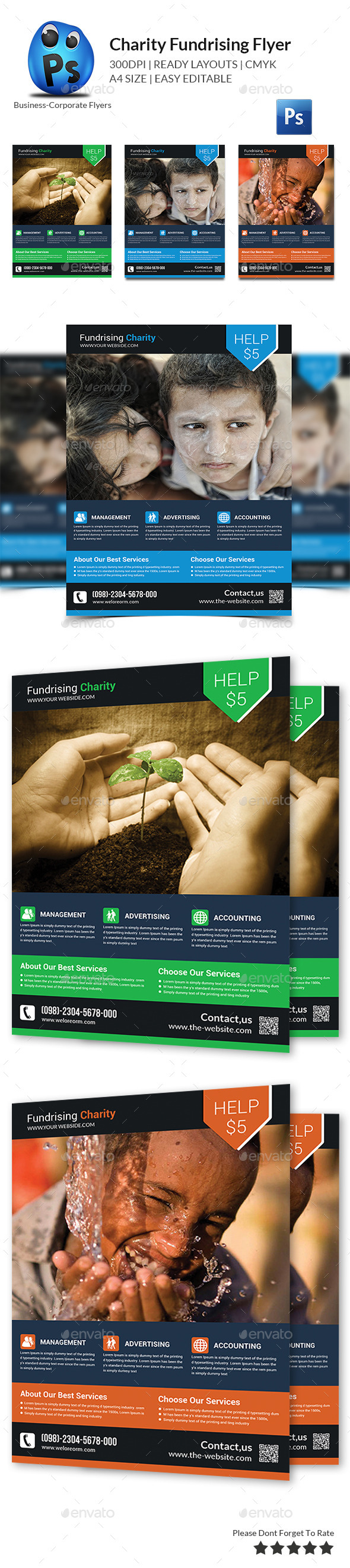 fundraising flyer templates