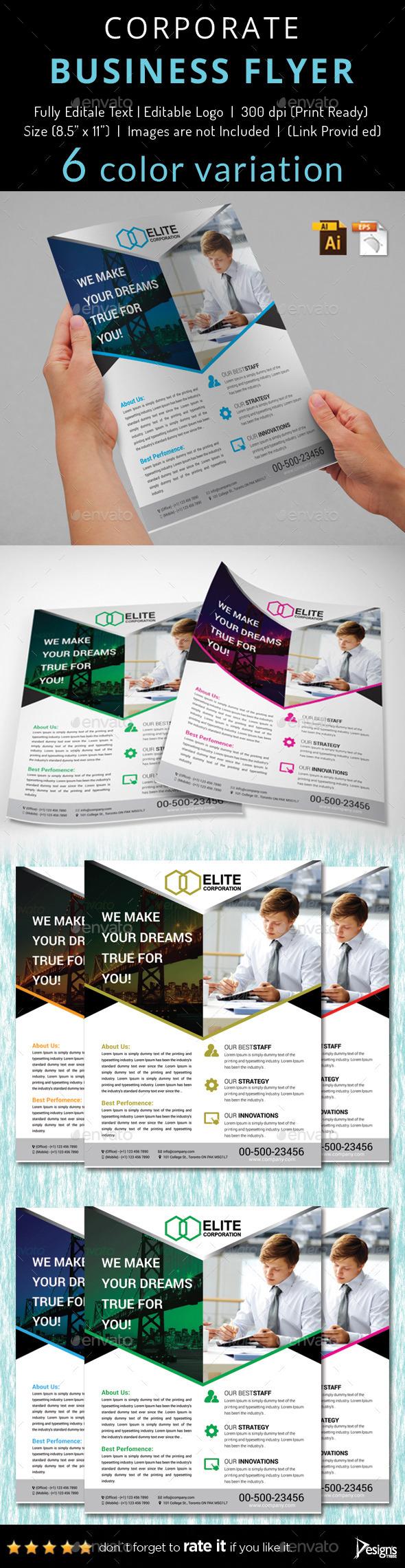 Multipurpose Business Flyer 51 - Flyers Print Templates