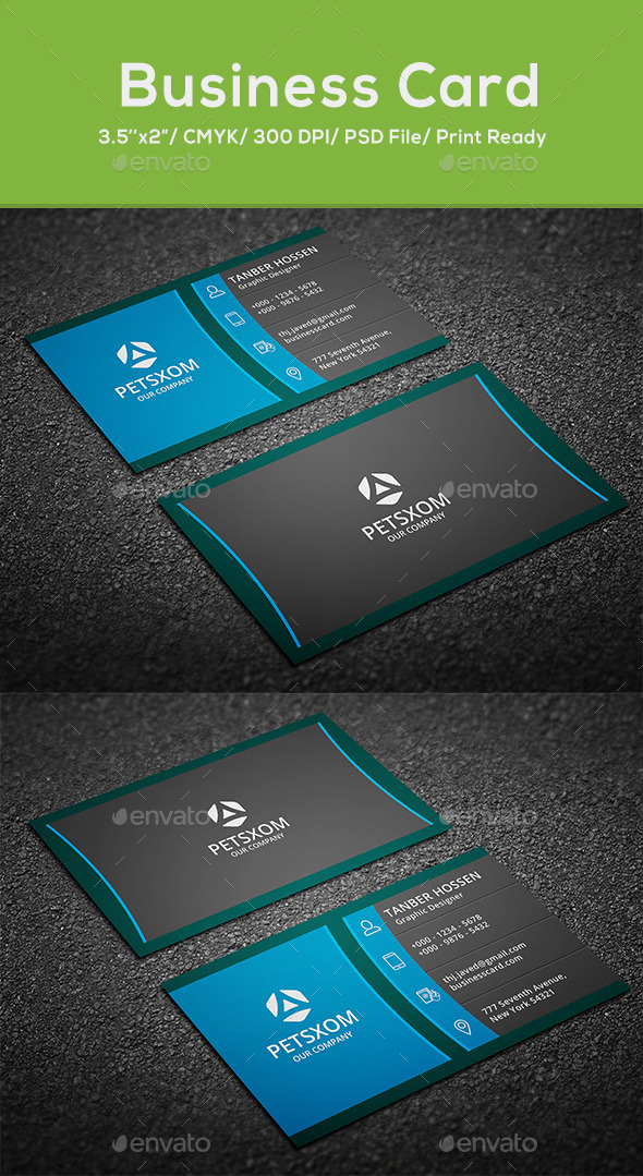 Modern Business Card - Creative Business Cards