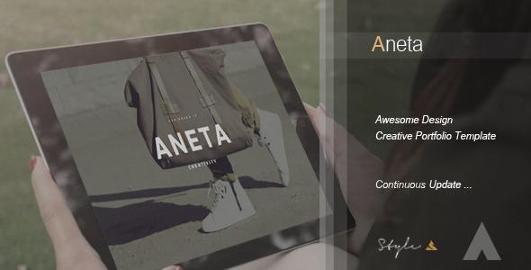 Aneta | Creative Portfolio Template
